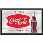 Trademark Global Coca-Cola Vintage Mirror Horizontal Refreshing New Feeling- 1 ea