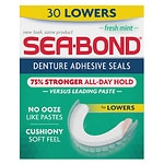 Sea-Bond Sea Bond Denture Adhesive Fresh Mint Lowers, Fresh Mint- 30 ea