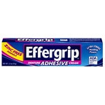 Effergrip Extra Strong Denture Adhesive Cream, Zinc Free