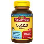 Nature Made CoQ10, 200mg, Liquid Softgels- 80 ea
