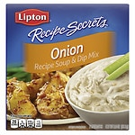 Lipton Recipe Secrets Soup & Dip Mix, Onion, 2 pk- 1 oz