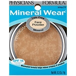 Physicians Formula Mineral Wear Face Powder Compact, Buff Beige 2797