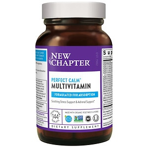 New Chapter Perfect Calm Multi Vitamin, Tablets- 144 ea