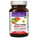 New Chapter Perfect Energy Multivitamin, Tablets- 72 ea