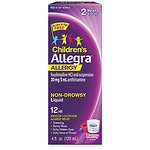 Allegra Children's 12 Hour Allergy, Oral Suspension, Berry