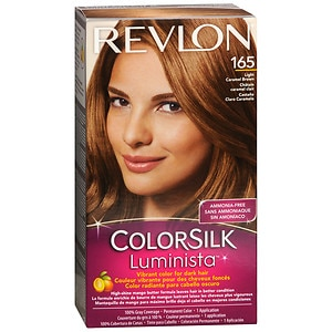 revlon colorsilk luminista vibrant color for dark hair. Black Bedroom Furniture Sets. Home Design Ideas