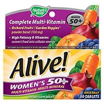 Nature's Way Alive! Once Daily Women's 50+ High Potency Multivitamin