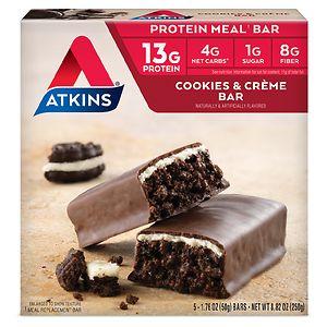 Atkins Advantage Meal Bars, 5 pk, Cookies n' Creme