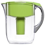 Brita Water Filtration System, Grand Pitcher, Green, 10 cups