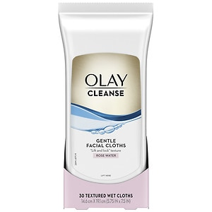 Olay Wet Cleansing Cloths, Normal- 30 ea