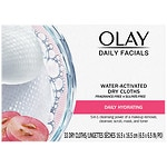 Olay 4-in-1 Daily Face Wipes, Normal