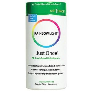 Rainbow Light Just Once, Tablets- 30 ea