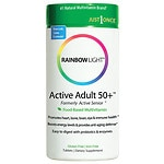Rainbow Light Active Adult 50+ Food-Based Multivitamin, Tablets- 30 ea