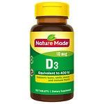 Nature Made Vitamin D3 400 IU, Tablets