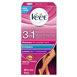 Veet Ready to Use Hair Removal Wax Strips, Legs & Body