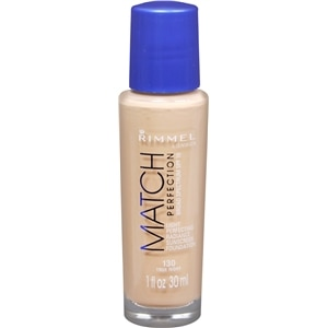 Rimmel Match Perfection Match Perfection Liquid Foundation SPF 18, True Ivory