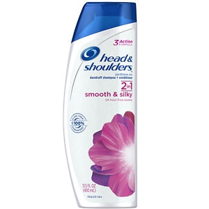 Head & Shoulders Smooth & Silky 2-in-1 Dandruff Shampoo + Conditioner