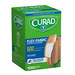 Curad Flex-Fabric Bandages, Assorted- 100 ea