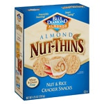 Blue Diamond Nut-Thins Almond Nut & Rice Cracker Snacks