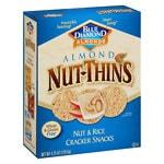 Blue Diamond Nut-Thins Almond Nut & Rice Cracker Snacks- 4.25 oz