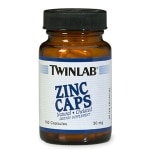 Twinlab Zinc Caps, 30mg