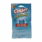 Cutter All Family Mosquito Wipes- 15 ea
