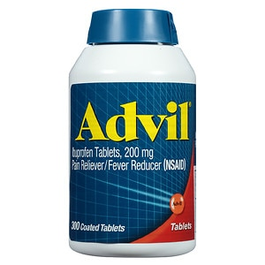 Advil Ibuprofen Coated Tablets, 200mg- 300 ea
