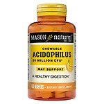 Mason Natural Chewable Acidophilus, Wafers, Vanilla-Banana- 100 ea