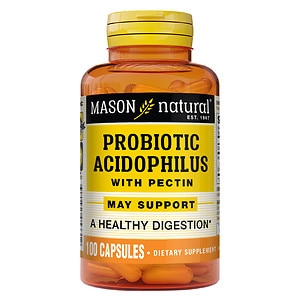 Mason Natural Acidophilus with Pectin, Capsules- 100 ea