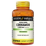 Mason Natural Cinnamon, 1000mg, Capsules- 100 ea