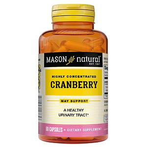 Mason Natural Highly Concentrated Cranberry, Capsules- 60 ea