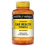 Mason Natural Advanced Ear Health Formula, Caplets- 100 ea