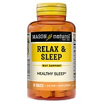 Mason Natural Relax & Sleep, Tablets- 90 ea