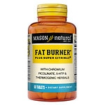 Mason Natural Super Fat Burner Plus Super Citrimax, Tablets- 60 ea