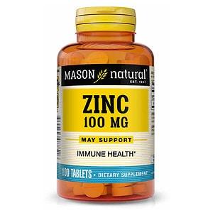 Mason Natural Zinc, 100mg, Tablets- 100 ea