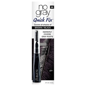 No Gray Quick Fix Instant Touch-Up for Gray Roots, Black/Brown