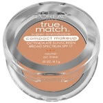 L'Oreal Paris True Match Super-Blendable Compact Makeup, SPF 17, Buff Beige N4- .3 oz