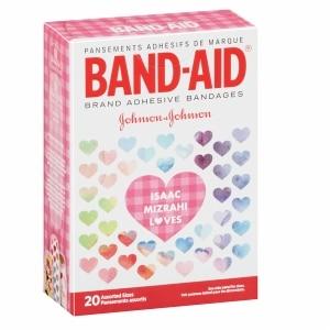 Band-Aid Designer Adhesive Bandages, Assorted Sizes