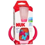 NUK Trendline Learner Cup with  Silicone Spout, Dot Pattern