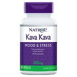 Natrol Kava Kava, 200mg, Capsules