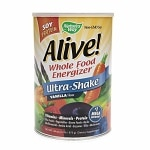 Nature's Way Alive! Soy Protein Ultra-Shake- 34 oz