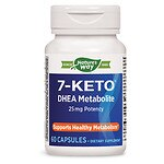 Enzymatic Therapy 7-KETO DHEA Metabolite, Capsules- 60 ea