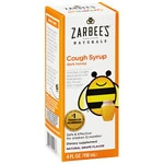 ZarBee's Naturals Children's Cough Syrup, Natural Grape Flavor