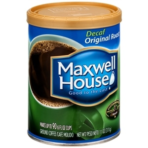 Maxwell House Ground Coffee, Decaf Original Roast, 11 oz