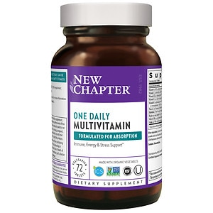 New Chapter Only One Multivitamin, Tablets, 72 ea