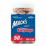 Mack's SafeSound Ultra Soft Foam Earplugs