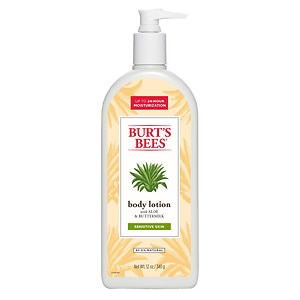 Burt's Bees Soothingly Sensitive Body Lotion for Sensitive Skin, Aloe & Buttlermilk