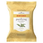 Burt's Bees Facial Cleansing Towelettes with White Tea Extract- 30 ea