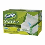 Swiffer Sweeper Wet Mopping Cloths with Febreze, Sweet Citrus & Zest