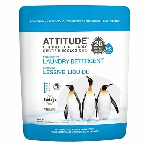 Attitude EcoPouches Laundry Detergent, 26 Loads&nbsp;